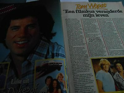 tom wopat, clippings 1983