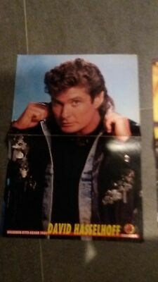poster 2 pages david hasselhoff ou oliver &co