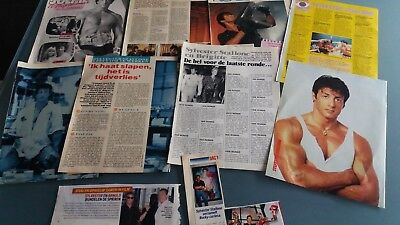 sylvester stallone  clippings