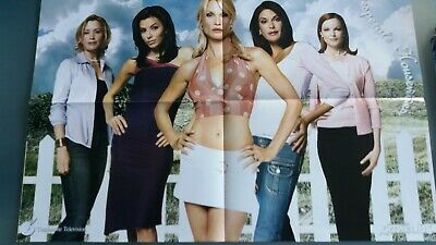poster 4 pages  charmed ou desperate housewives