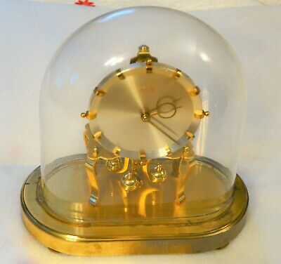 Vintage Signed Kundo 400 Day Oval German Anniversary Clock Kieninger Obergfell