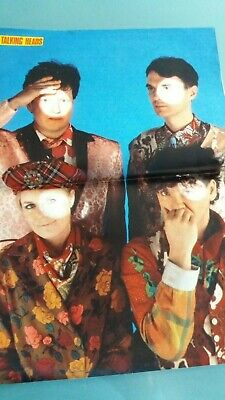 poster 2 pages talking heads