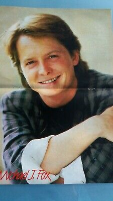 poster 2 pages  michael j fox