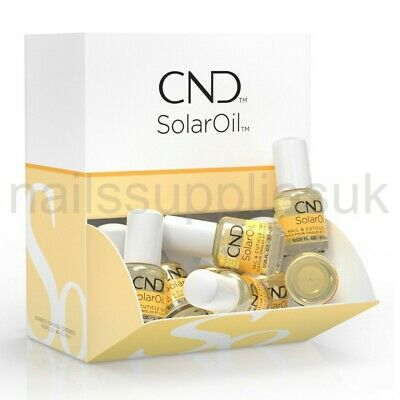 CND Solar Oil 3.7mL Nail & Cuticle Care Conditioner SolarOil Mini Travel Size