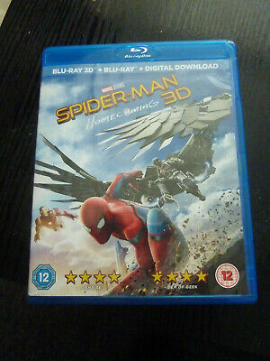 Spider-Man: Homecoming (3D ) [Blu-Ray] includes comic.