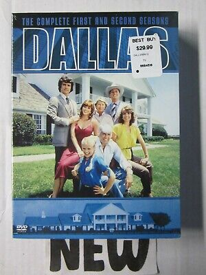 Dallas The Complete First and Second Season DVD