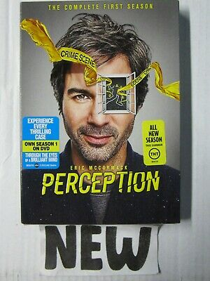 Perception: The Complete First Season DVD