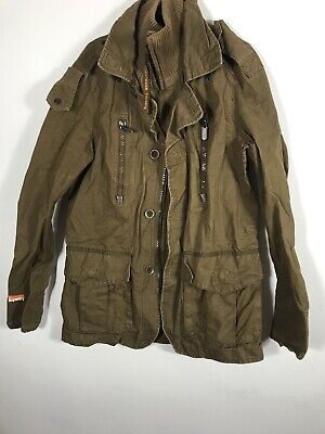 Mens Superdry Military Army Style Blazer Jacket Size L. No. 294