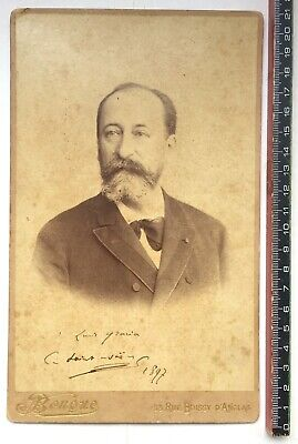 Camille Saint-Saëns - Photograph Signed 1897