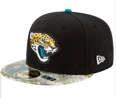 buy online 3ed01 c421c NFL Jacksonville Jaguars Salute To Service 59fifty Fitted Hat New Era 7 1 8
