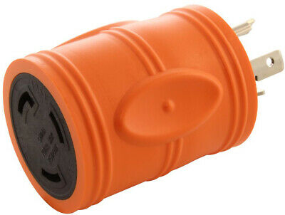 Male to Female Locking Adapter 20 Amp to 30 Amp Connector Generator Accessories