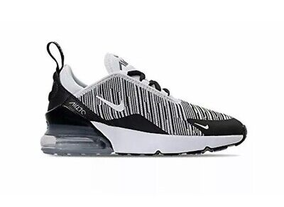 78ed3c392e NIKE AIR MAX 270 PS Boys Girls Little Kids Size 2.5 Y Black Volt ...