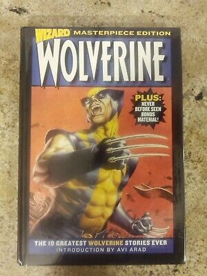 Wizard Wolverine Masterpiece Edition Vol. 1 Hardback Claremont Byrne Lee