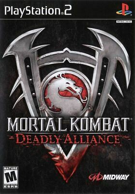 Mortal Kombat: Deadly Alliance PlayStation 2 PS2 Game Complete *CLEAN VG