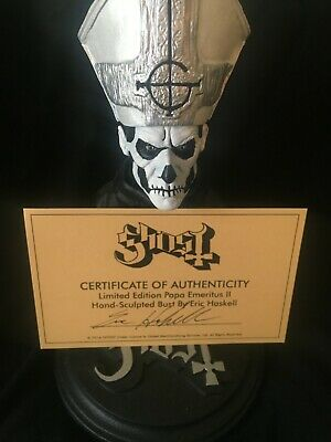 Ghost Papa Emeritus II Bust W/ Cert. of Authenticity