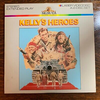 Laser Disc ~ Kelly's Heroes ~ Eastwood, Savalas, Rickles, O'Connor, Sutherland
