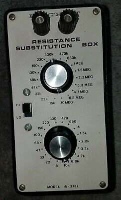 Working Heathkit Resistance Substitution Box Model IN-3137