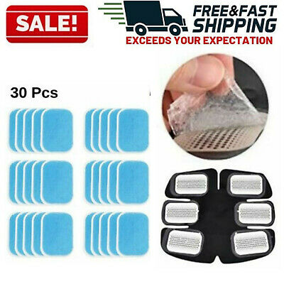 Replacement Gel Pads for EMS Muscle Toner Abs Trainer Belt Fat Burner Sheets