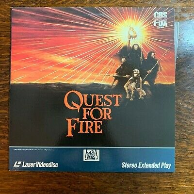 Laser Disc ~ QUEST FOR FIRE ~
