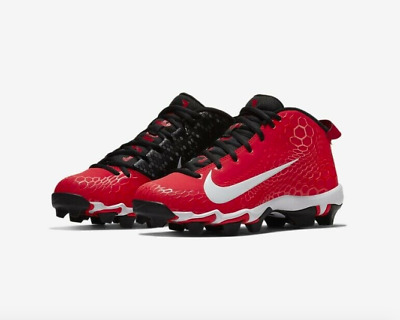 a42760e8f93 Nike Force Trout 5 Pro Keystone Baseball MCS Cleats Size 9 Red AJ9253-601  Men s