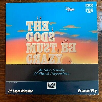 Laser Disc ~ THE GODS MUST BE CRAZY ~