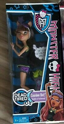 New Monster High Doll, Dead Tired Clawdeen Wolf, 2012 Retired
