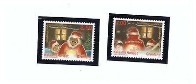 Greenland 2010 Sc. 578-579 Christmas In Greenland  Mnh Pg28