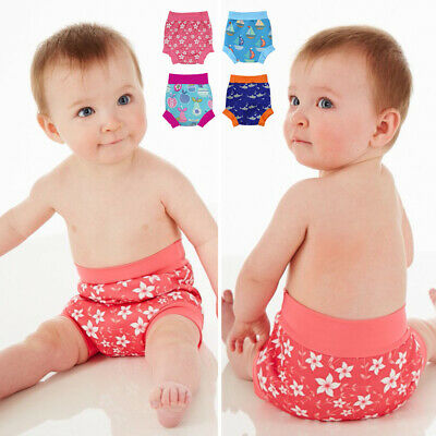 Baby Infant Swimming Trunk Boys Girls Cartoon Leakproof Swim Diapers Nappies 666