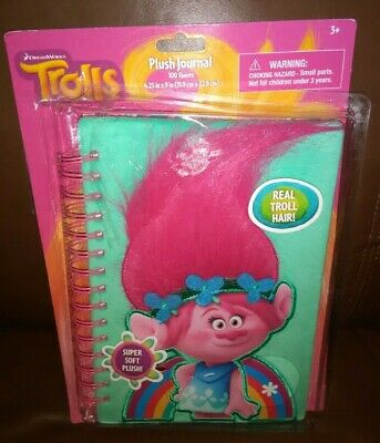 Trolls Plush Journal
