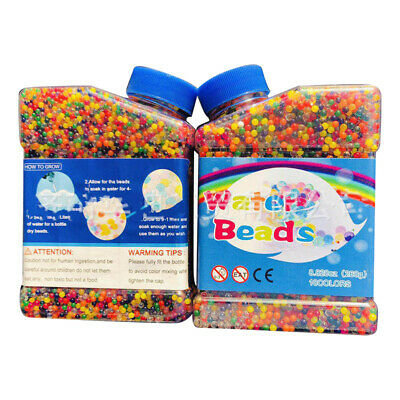 50000PCS/Bottle Orbeez Jelly Bead Water Plant Flower Crystal Balls Vase Decor