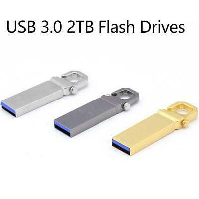 USB 3.0 2TB Flash Drives Memory Metal Flash Drives Pen Drive U Disk PC Lapt C4R2