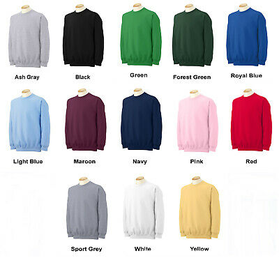 NEW Youth Sweatshirts Boys Girls Kids Children Gildan Heavy Blend Sweat Shirts