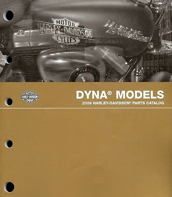 2009 Harley-Davidson Dyna Parts Catalog Manual -New Sealed-Fxdf-Fxdb-Fxdc-Fxdl