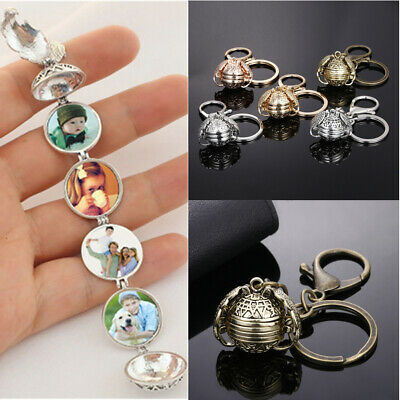 Expanding Magical Photo Memory Locket 4 Photos Angel Wing Necklace MAGIC Gift J