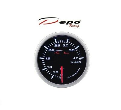 Depo Racing Mechanische Ladedruck Anzeige / Mechanical Turbo Boost Gauge 4 Bar