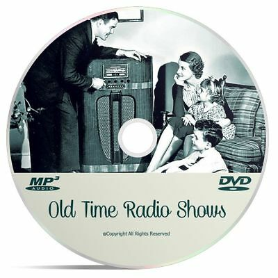 The Whistler OTR 410 Old Time Radio Shows Detective & Crime MP3 DVD