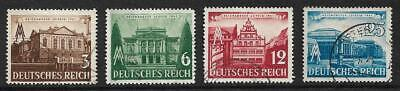 Germany (Third Reich) 1941 Leipzig Fair Set Used/Mounted