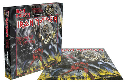 Iron Maiden 'Number Of The Beast' 500 Piece Jigsaw Puzzle + NEW & OFFICIAL!
