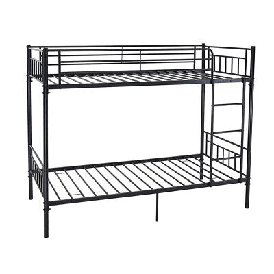 Modern 3Ft Single Twins Metal Bunk Bed Frame For Adult Kids Bedroom Furniture