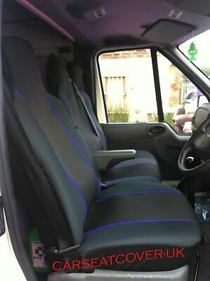 96-06 GREEN MotorSport VAN Seat COVERS Double Single Fiat Scudo