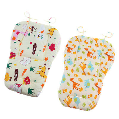 2 x Soft Stroller Cushion Seat Dining Chair Cover Baby Infant Pad Cotton Mat