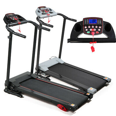 2.0HP Folding Motorized Treadmill Exercise Fitness Machine Adjustable Incline