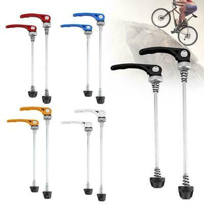 Mountain Bike Skewers Road Bicycle Quick Release Front Rear Axle Skewer Sets