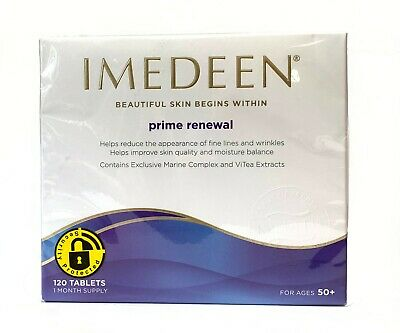 Imedeen Prime Renewal 120 Tablets 1 Month Supply Exp. Date: 06.2020