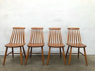Vintage Set Of 4 Farstrup Danish Dining Chairs.G Plan Mid century Retro DELIVERY