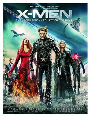 X-Men: 3 - Film Collection (Bilingual) [Blu-ray + Digital Copy] *NEW**