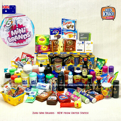 Zuru Mini Brands USA - Mini Groceries - Great for Coles Little Shop Collectors!