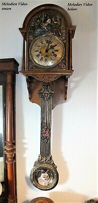 135cm H BELCANTO Comtoise Wanduhr AVE MARIA/WESTMINSTER MELODIE-11 Hammer-93021