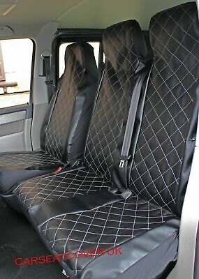 XTRA HEAVY DUTY BLUE WATERPROOF VAN SEAT COVERS 2+1 VW LT