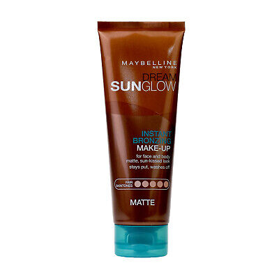 Maybelline Dream Sun Glow Instant Bronzing Matte Makeup 125ml